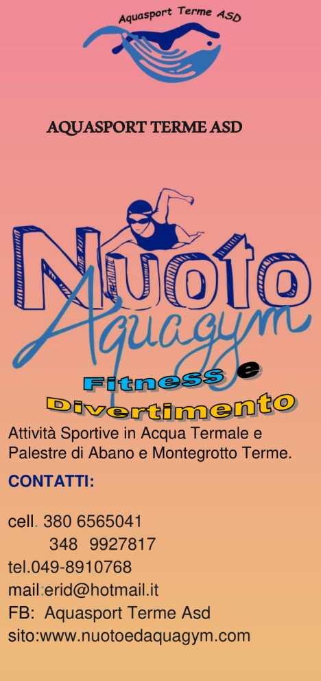 Volantino Aquasport 18-1