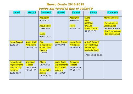 Giorni e Orari Corsi - Aquasport Terme Asd-page-001